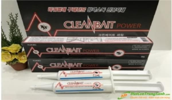 Cleanbait Power Thuốc diệt gián hiệu quả không gây độc hại cho người sử dụng