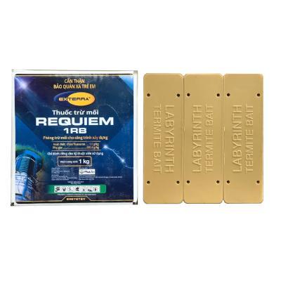 Labyrinth hộp chứa thuốc trừ mối sử dụng trong nhà với thuốc trừ mối Requiem 1RB